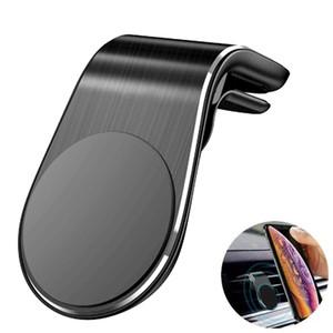 소매 P와 자동차 강력한 자석에 전화 아이폰 삼성 샤오 미 L 형 자동차 에어 벤트 모바일 홀더에 대한 보편적 인 자기 자동차 전화 홀더