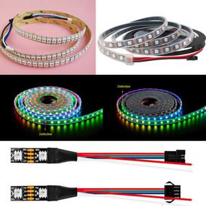 5V WS2813 IC 5050 Rgb Led Pixel Flexle Strip Light Tape Individual Addressable Legislative Digital Dream Magic Color Change Dual