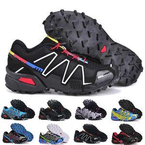 salomon speedcross 3 4 2018 Marque vente Hot Speedcross 3 CS Trail Casual femme Chaussures légère Sneakers marine Salomon III Zapatos Chaussures de sport imperméables 36