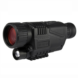 av çekim için airsoft AR 15 M4 M16 aksesuarları taktik el Kızılötesi Dijital 5x40 gece görüş kapsamı Monocular