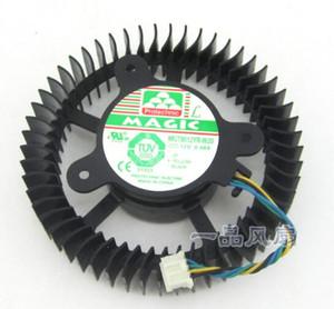 GTX260 GTX275 Format noir MGT8012YR-W20 Fan de carte d'affichage hydraulique à quatre fils de 0,48 a
