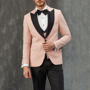 Mens Suits with Pants for Wedding Italian Wedding Costume Suit for Men Groom Suits Tuxedos 3 Pieces Tuxedo Man