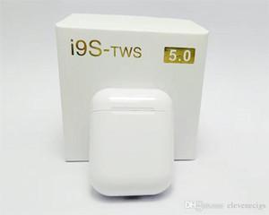 Лучшее качество i9S Tws 5.0 Наушники Наушники с всплывающим окном стерео наушники для IOS Android телефон беспроводные наушники Bluetooth