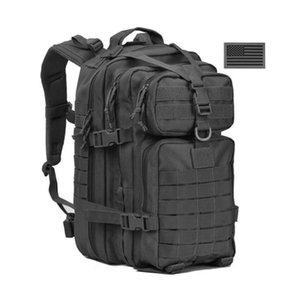 34L Tactical assalto Pacote Mochila Exército Molle Waterproof Bug Out Bag Mochila pequena para Outdoor Caminhadas Camping Caça