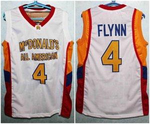 Jonny Flynn # 4 All American Retro Basketball Maillots de McDonald Hommes Cousu sur mesure Tous Nombre Nom