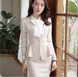 Plus Size Women Slim Blazer Skirt Set 2 Pieces Ladies Designer Elegant Skirt Suit Office Vintage Womens Suit Black Red 5XL