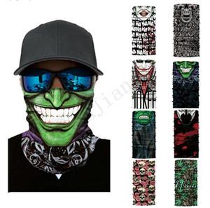 Outdoor-Sport Radfahren Kopftuch Multifunktionale Seamless Gesichtsmasken Motorrad Schal Sommer Sun-Maske im Freien Bandana Schal Geschenke E3204