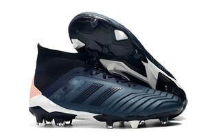 2020 En Son Orjinal Sarı Siyah Predator 18+ Ve 18.1 FG Boot Erkek çocuklar Futbol Profilli Dantel olmadan