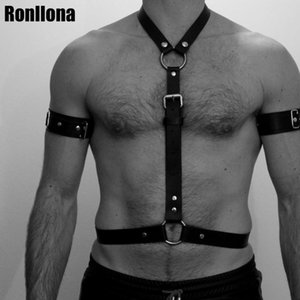 Chest Bondage Leather Harness Shoulder Belt Bust Cage Body Strap Adjustable Erotic Flirting Cosplay Couple Pole Dance Rave Night