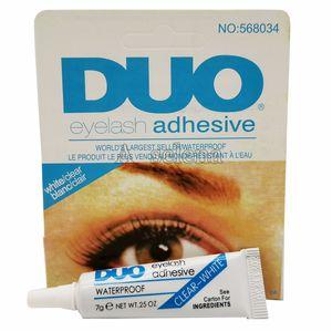 Fabrik DUO wasserdichte Wimpern Klebstoffe (Kleber) 9G Weiß / Schwarz Make-Up-Tools Professional DHL-freies Verschiffen
