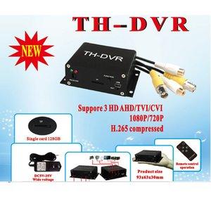 TH-DVR 4 in One Support Analog AHD TVI CVI 1080P/720P TF / SD Card Mini DVR H. 264 HDMI CCTV Camera Video Recorder DVR