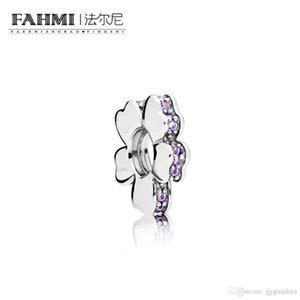 FAHMI 100% 925 Sterling Silver 1:1 Original Authentic Charm 797042NLC Temperament Fashion Glamour Retro Bead Wedding Women Jewelry