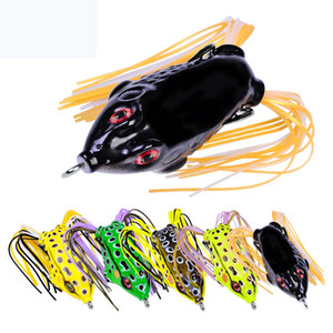 New Artificial Ray Frog Rubber Fishing bait hooks 5.2cm 8.5g Likelife frog topwater bass lure