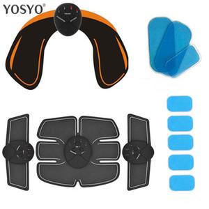 العضلات الذكية EMS الوركين المدرب الكهربائية تحفيز اللاسلكية الأرداف البطن ABS محفز للياقة البدنية الجسم مدلك حك