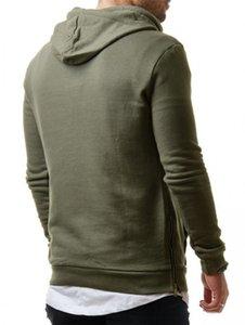 Tişörtü Gevşek Erkek Erkekler Tasarımcı Fermuar Delik Hoodies Kazak Kazak Moda Rahat Giyim Sonbahar Mens Ukmlo