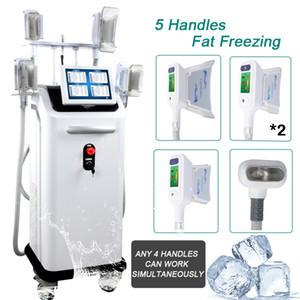 Красота CRYOLIPOLYSIS машины жир замораживания 4 обрабатывает CRYOLIPOLYSIS жир замораживания Cryolipolysis похудения машина criolipolisis жира сокращение