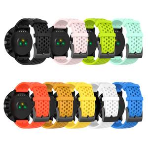 earable Smart Devices Accessoires silicone Bracelet pour Suunto Bracelet Spartan / Sport h poignet pour Suunto 9 baro / D5 Montre remplacement Spo ...