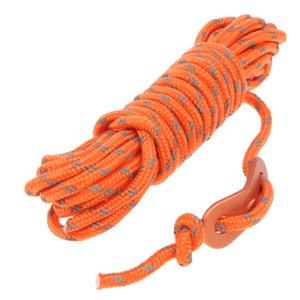 4 millimetri riflettente Guida della tenda del cavo della corda Guy Linea, Essenziale campeggio di sopravvivenza ingranaggi Accessori