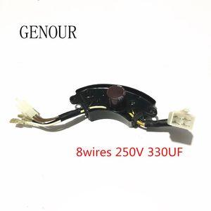 3KW-3KW ТРЕХФАЗНЫЙ Автоматический регулятор напряжения AVR для генератора Регулируемый, бензиновый генератор AVR, 8 линий SK8500W / PK7500W