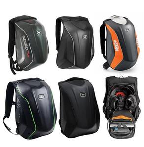 OGIO Mototourisme sac à dos épaule chevalier sac à dos locomotive mâle fibre de carbone de sac de casque de coussin à coque dure KTM étanche
