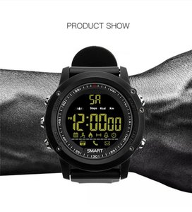 Smart Bluetooth watch EX17 Long standby time Smartwatch Bracelet IP67 Waterproof Swim Fitness Tracker Sport Watch Android DHL