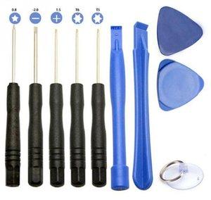 Handys Reparing Werkzeuge 10 in 1 Reparatur-Hebel-Kit Öffnungs-Werkzeug-Pentalob Torx Schlitz-Schraubendreher für iPhone 4 4S 5 5s 6 moblie Telefon