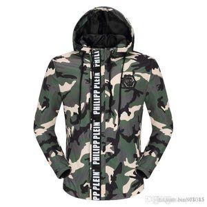 chaquetas de marca Chaqueta de cuero hip hop P hombres cráneos capa ocasional de los hombres rompevientos hombre de alta calidad de ropa de lujo de la moda tamaño de Asia M-3