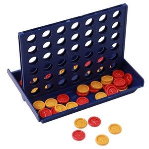 Jouet éducatif Chess Ren Toys-Bingo Game Quatre échecs quadruples plateau de jeu vertical bleu vertical Connect Board Checkers