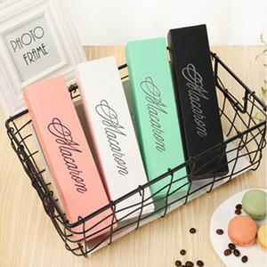 Chriatmas Hollow Macaron Box кекс Контейнер Валентина Шоколад Упаковка для выпечки Упаковка Macaron Упаковка бумаги торт коробки