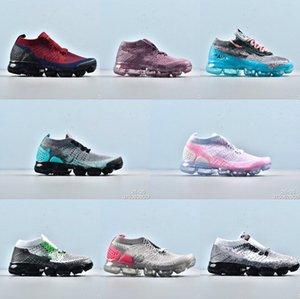 Coussin atmosphérique en fils volants tricotés. Chaussures de sport pour garçons et filles. Course et garçons