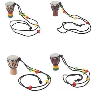 Классический WoodenJambe Ударник Mini Джембе Африканских стороны барабана Бонго Другие подарков Классический WoodenJambe Ударник Mini джембе Перкуссия Африканский Han