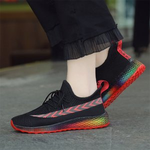 Hot Sale 2019 New ladies sneakers ssummer breathable wild yards Lightweight fashion casual women's shoes wholesale