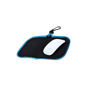 Customized Colorful Amazon Hot Sale High Quality Black Multi Function Neoprene Storage Bag Mouse Pad Mat