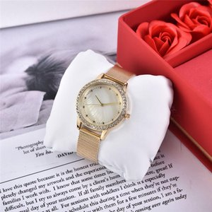 Ultra thin women's calendar calendar mesh steel wristwatch quartz women's watch
