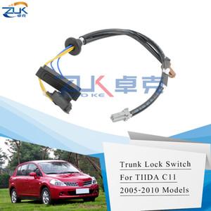 ZUK Gövde kilidi yayın 2005 2006 2007 2008 2009 2010 Nissan Tiida Versa Latio C11 için Bagaj Anahtarı Düğmesi Anahtarı