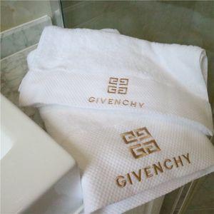 Marca GIV toalha de banho Set 3Pcs Paquistão Algodão ouro Tópico Projeto bordado toalha confortável e respirável amigo da pele Toalha de banho