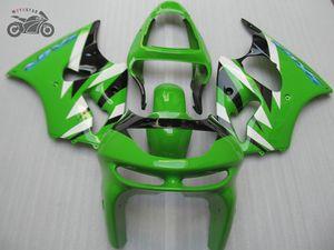 carénages Gratuit personnalisés pour Kwasaki Ninja ZX6R 1998 1999 réparation après-vente corps ABS kits Carénage ZX6R 98-99 ZX 6R 98 99