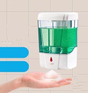 700ml automático dispensador de jabón líquido del sensor de montaje en pared dispensadores de jabón spray desinfectante sin contacto de jabón líquido de goteo del dispensador GGA3614