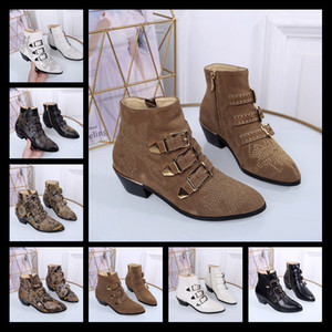 Encontre navio livre similar! U632 40 2 cores couro genuíno pontudo cinto med calcanhar tiro botas preto marnoon p moda escolhas de moda