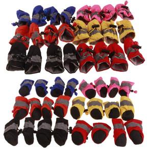 أحذية كلب جرو عدم الانزلاق أحذية لينة سوليد للماء كلب صغير Prewalkers لينة منتجات الحيوانات الأليفة مستلزمات الحيوانات الأليفة العناية باو
