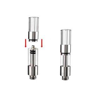 Hottest Sales Amigo Itsuwa T6-P T6-S No Leak Glass Tank Vaporizer Pen Refillable Ceramic Cartridge 510 Thread