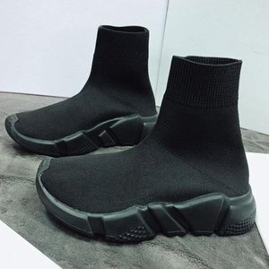 2020 HOT NEW Speed sock high quality Speed Trainer Casual shoes for men women shoes Speed stretch-knit shoes sneakers size36-45 X8a