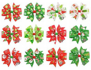 Bebé niñas Siwa arco Clip de pelo Grosgrain cinta horquilla niños Barrettes Bowknot horquillas DIY accesorio para el cabello regalos de navidad 2020