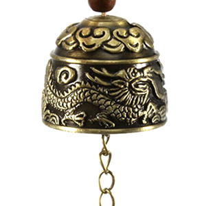 New Blessing Bell Luck Bell Feng Shui Metal Wind Chime Fortune Home Car Hanging Ornaments Decor Christmas Gift Crafts