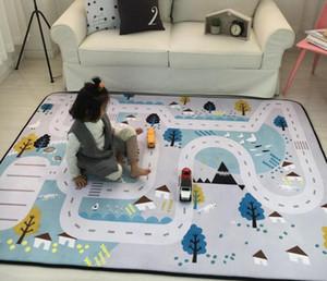 Baby Squishy Carpet Kids Room Rugs Alfombras de Bebé Multifunción Rastreo de Alfombra Juguetes Bolsa de Almacenamiento Juego de Dormitorio de Niños Alfombras Alfombras