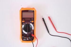 sıcak satış ucuz yeni moda Multimeter yüksek hassasiyetli dijital gösterge elektrikli alet işaretçi türü çok işlevli bir dijital multimetre