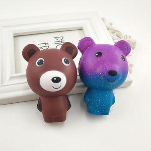 Мультфильм Симпатичные Squishy Бурый медведь ароматическая Slow Восходящая Сожмите игрушка Шарм Декомпрессия игрушки для детей взрослых Подарки