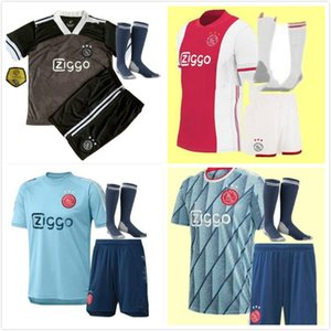 20 21 AJAX adult kids soccer jersey kits 2020 2021 PROMES ALVAREZ TADIC NERES ZIYECH BEEK football shirt men boys Full sets uniforms