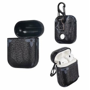 2020 New hot sale Classic Presbyopia Apple Bluetooth Headset Protective Case Leather Hard Shell Plaid Cover Siamese
