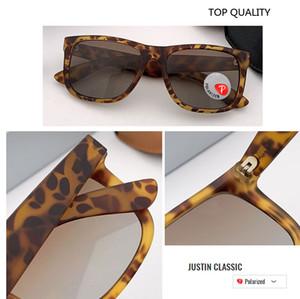 Occhiali justin Sun TR90 degli occhiali da sole polarizzati degli uomini dell'annata per le donne Piazza Shades guida Estate Oculos sesso maschile più colori del modello 4165 gafas